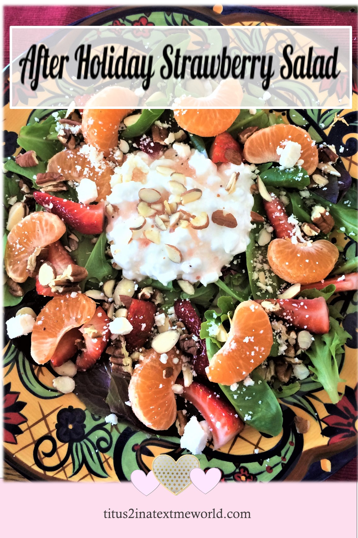 after holiday strawberry salad