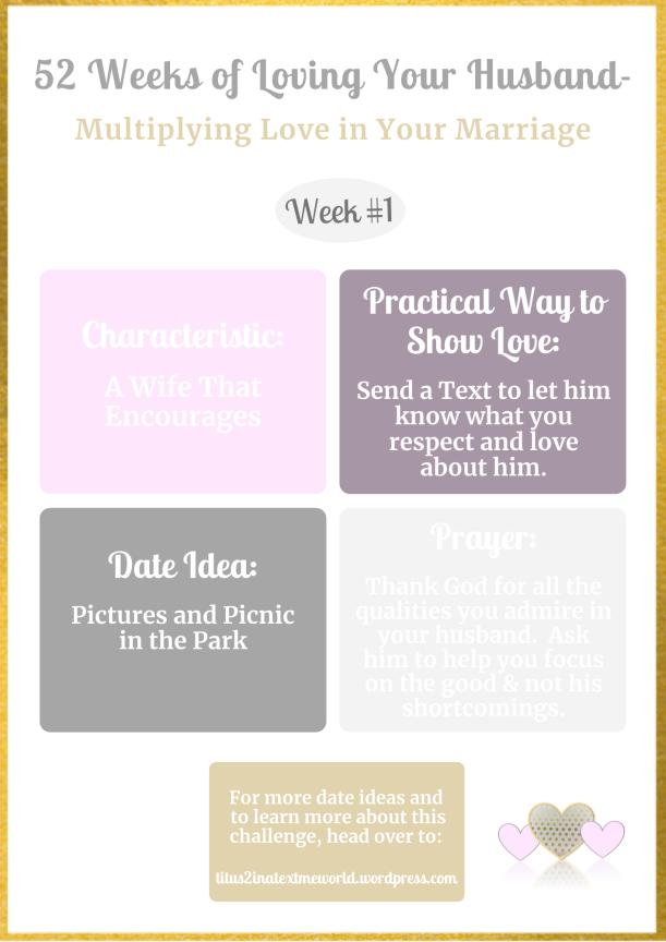 52 Weeks-Week 1