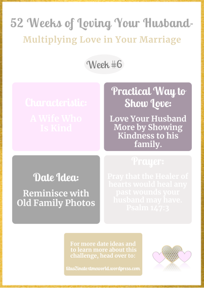 Week #6 Multiplying Love in Your Marriage Challenge