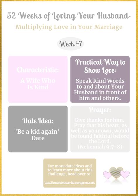 Week #7-Mulitiplying Love in Marriage.